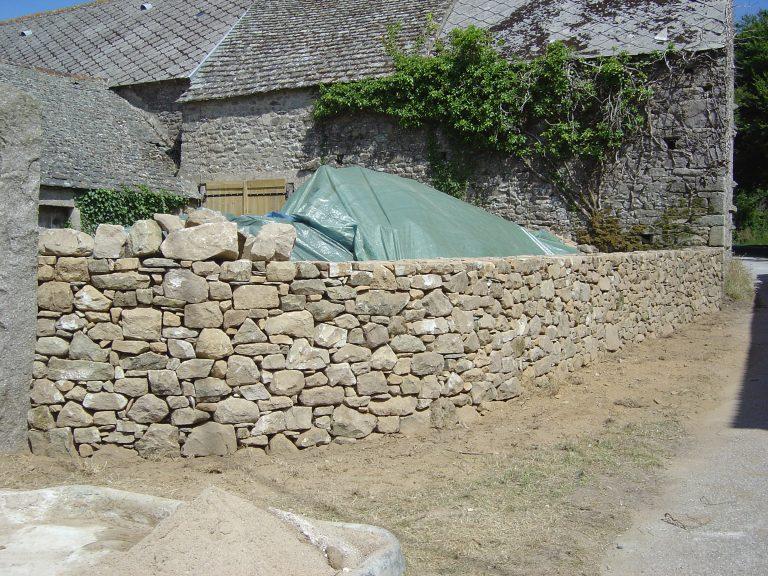 Rénovation pierre sèche